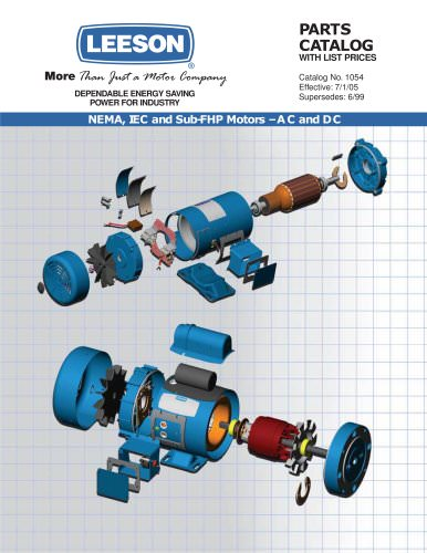 parts catalog  leeson electric  pdf catalogs  technical