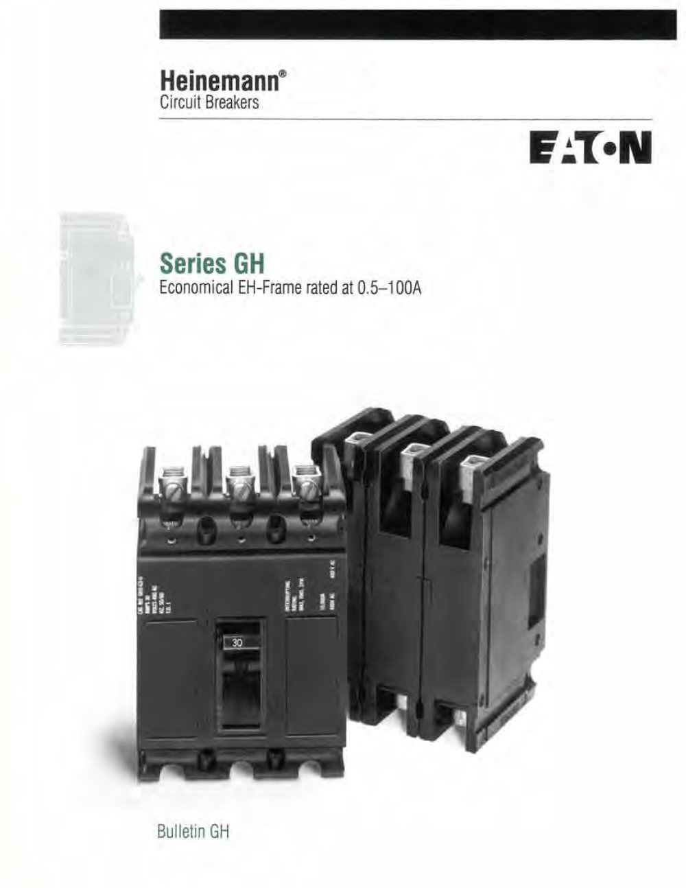 Series Gh Eaton Count Control Products Pdf Catalogue Technical Improvement Electrical Breakers Load Centers Fuses Circuit 1 8 Pages