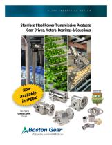 Stainless Steel Power Transmission Products