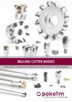 Milling Cutter Bodies