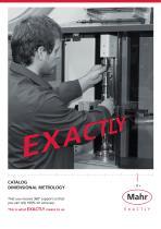 Production Metrology Catalog