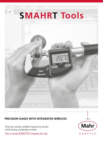 SMAHR T Tools - MAHR - PDF Catalogs | Technical