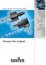 R 64: Sauter spindle units and tool holders - 1