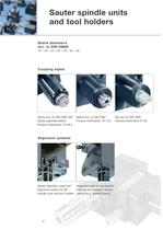 R 64: Sauter spindle units and tool holders - 6