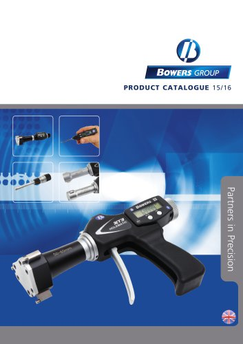 Bowers Product Catalogue 15/16