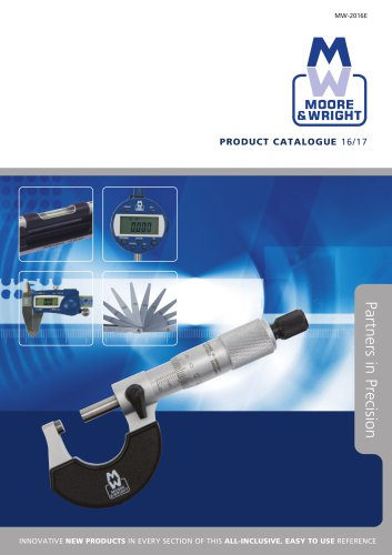 Moore & Wright Complete Catalogue 2016/17