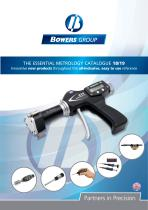 THE ESSENTIAL METROLOGY CATALOGUE 18/19