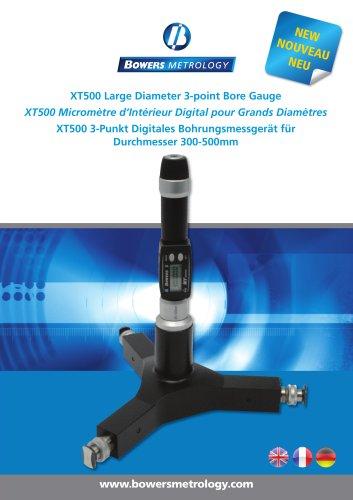 XT500 Large Diameter 3 Point Bore Gauge