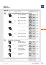 Actuators Series 8602/3 - 3
