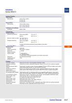 Actuators Series 8602/3 - 7