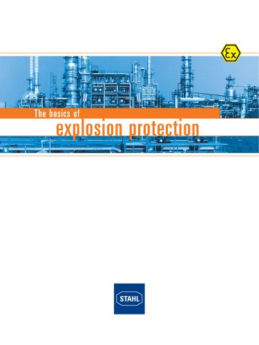 The basics of explosion protection