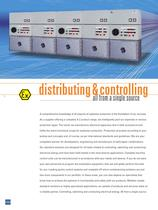 Distributing and Controlling - 4