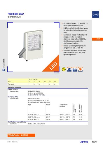 Floodlight LED Series 6125