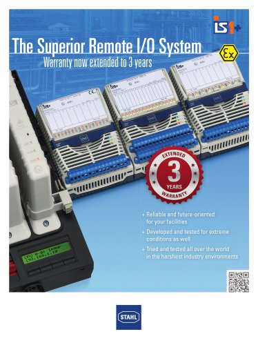 IS1+ - The superior Remote I/O System