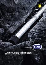 LED tubular light fitting 6036 - 1