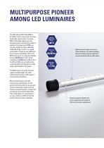 LED tubular light fitting 6036 - 2
