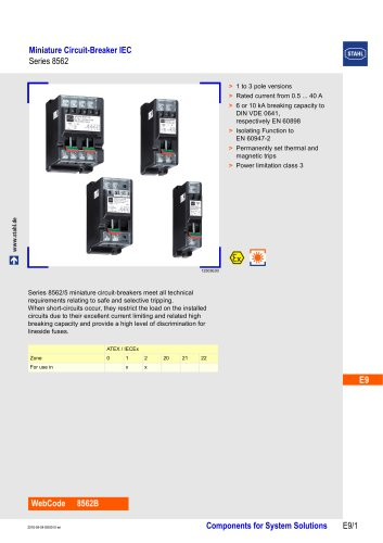 Miniature Circuit-Breaker IEC LS Series 8562