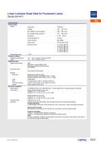 Sheet-Steel Light Fittings Series 6414 - 3
