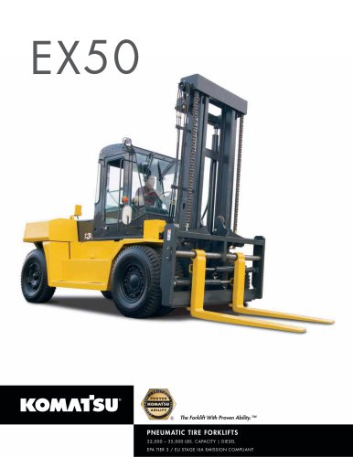 EX50 Series Brochure