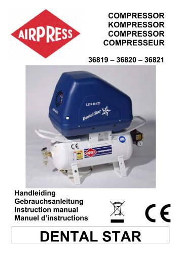 Airpress Compressoren Dental Star (36819,36820.36821)