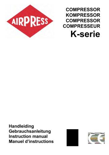 Airpress Compressoren (K-serie)