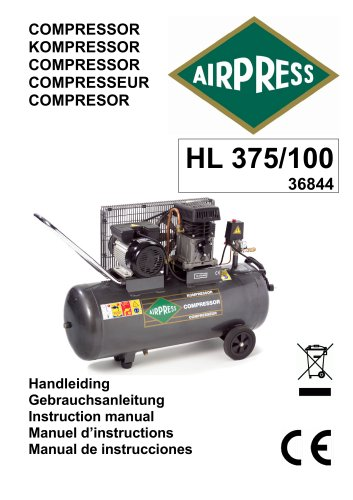 Airpress Kompressor (36844)