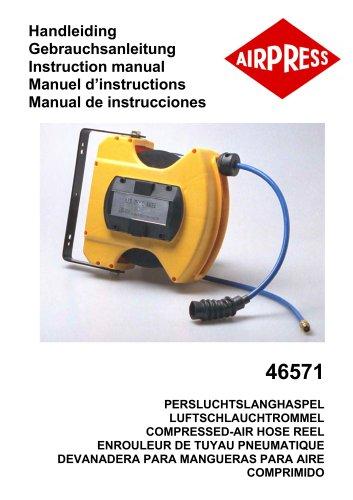 Airpress Persluchtslanghaspel (46571)