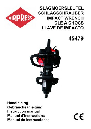 Airpress Slagmoersleutel met benzinemotor (45479)