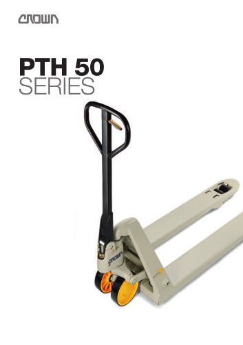Electric Pallet Trucks Crown Pdf Catalogs Technical Documentation Brochure