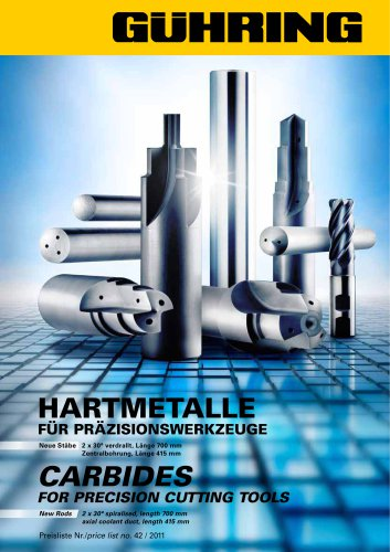 Carbides for precision cutting tools