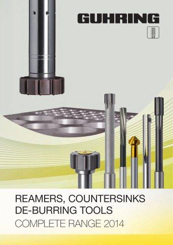 REAMERS, COUNTERSINKS DE-BURRING TOOLS - 2014