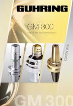 TOOLHOLDERS AND CLAMPING DEVICES - GM 300