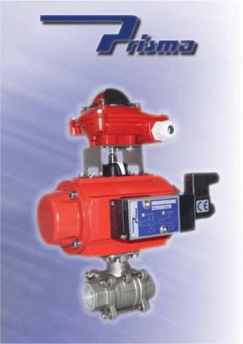 Actuators with valve