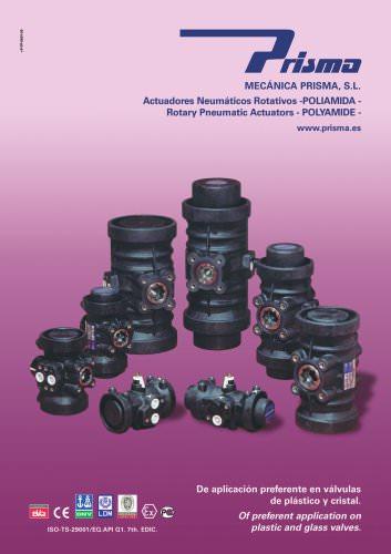 Rotatory Pneumatic Actuators - Polyamide