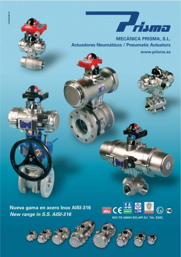 stainless steel actuators