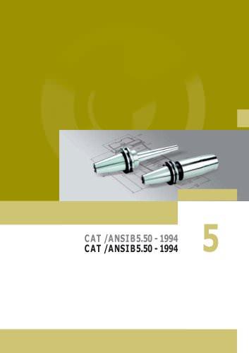 CAT / ANSI B5.50 - 1994