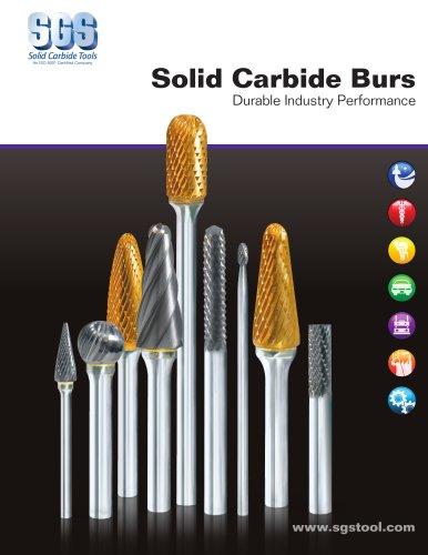 SGS Bur Catalog