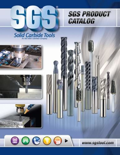 0.4724 Shank Dia TMCoated 47031 3.2677 Overall Length 1.0236 Length of Cut 12,0 ENDMILL 5FL 3,00R TM WF Carbide 0.4724 Cutting Dia Kyocera SGS Precision Tools
