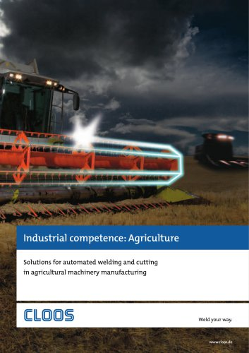 Industrial competence: Agriculture