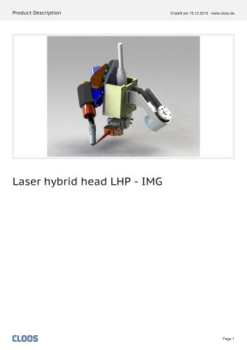 Laser hybrid head LHP - IMG