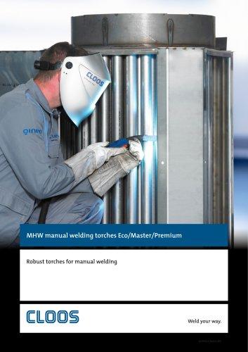 MHW manual welding torches Eco/Master/Premium