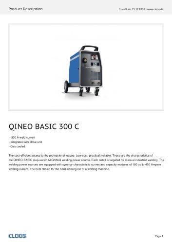 QINEO BASIC 300 C