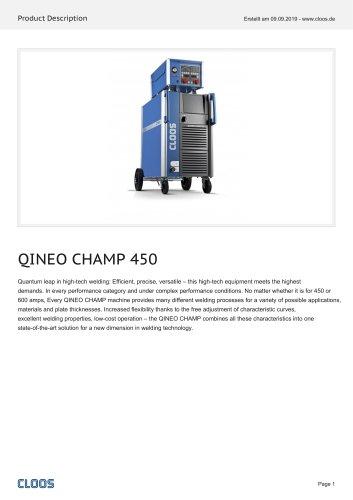 QINEO CHAMP 450