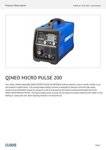 QINEO MICRO PULSE 200