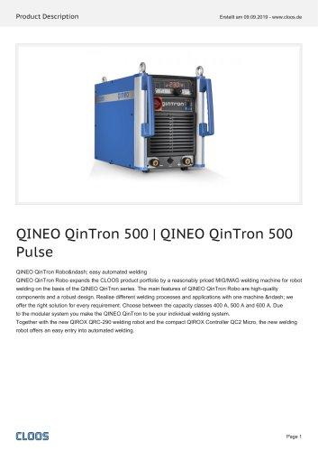 QINEO QinTron 500   QINEO QinTron 500 Pulse