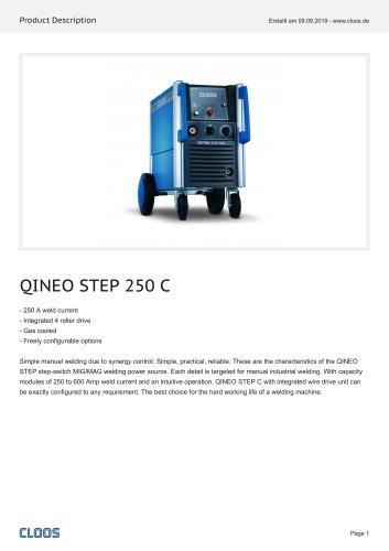 QINEO STEP 250 C