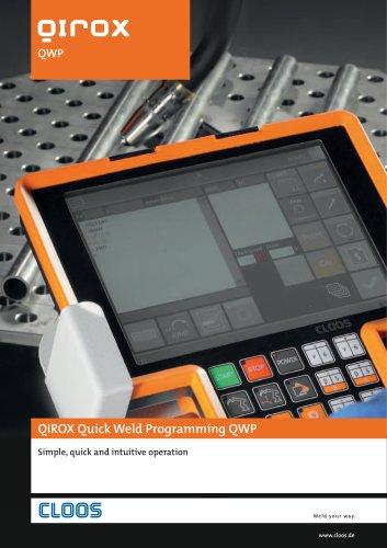 QIROX Quick Weld Programming QWP