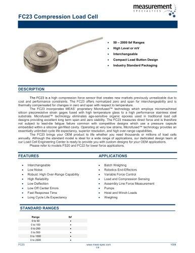 Force Sensor - FC23 Series