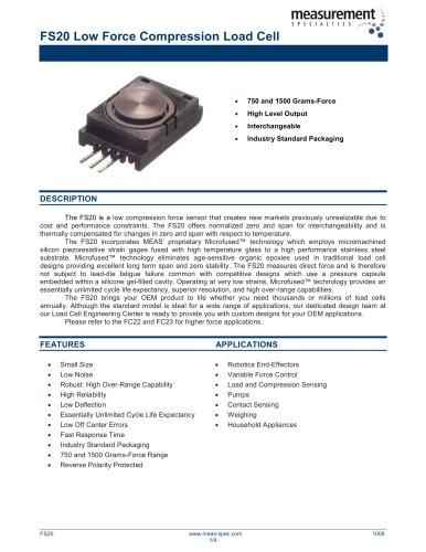 Force Sensor - FS20 Series