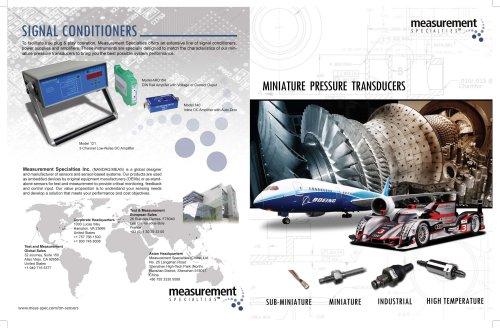 Miniature Pressure Transducers